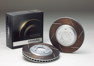Тормозные диски Dixcel HS (High fusion Slotted disk).